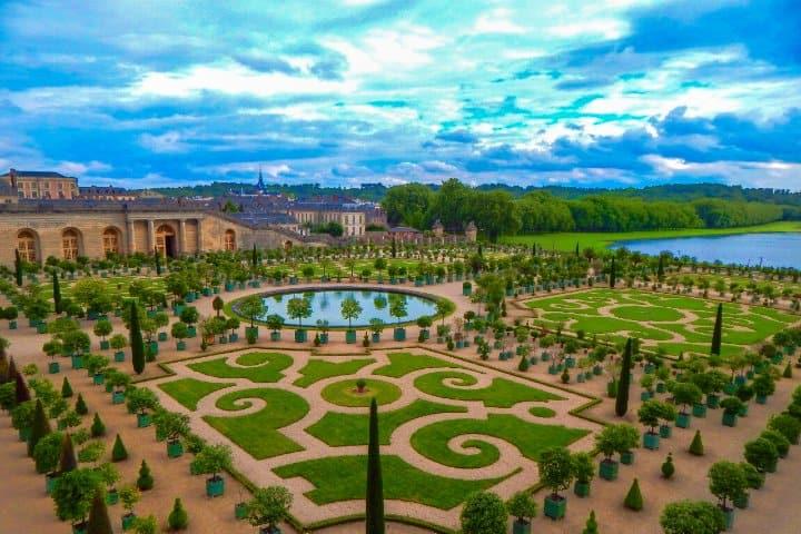 Jardines de Versalles. Foto:  Clark Van Der Beken