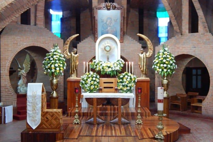 Parroquia de Nuestra Señora del Perpetuo Socorr. Foto: Parroquia de Nuestra Señora del Perpetuo Socorro