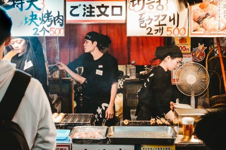 Restaurante Japones. Foto: Adli Wahid
