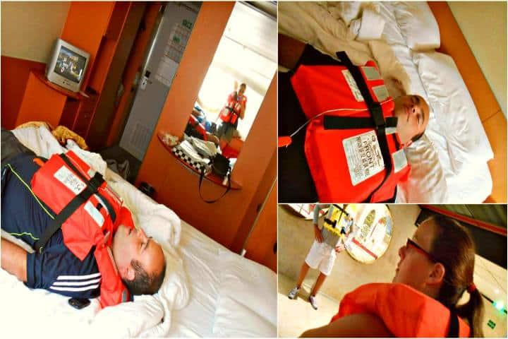 Simulacro de emergencia en el crucero Foto unmundodeexperiencias com (1)