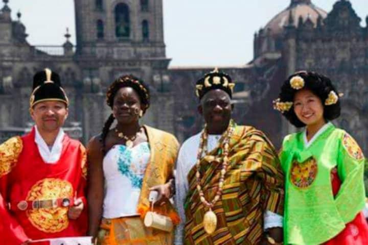 Te imaginas 86 naciones reunidas compartiéndote su cultura Foto DigitalMex