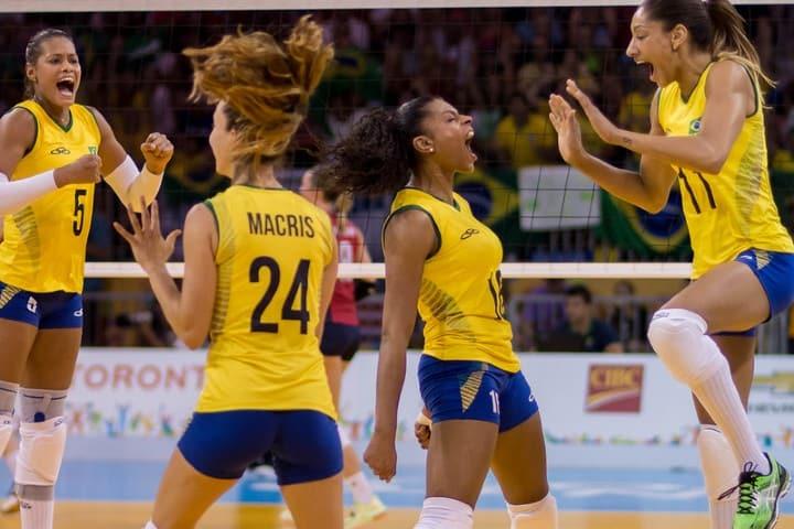 Voleibol Juegos Panamericanos Toronto 2015. Foto: Philip Whitcombe