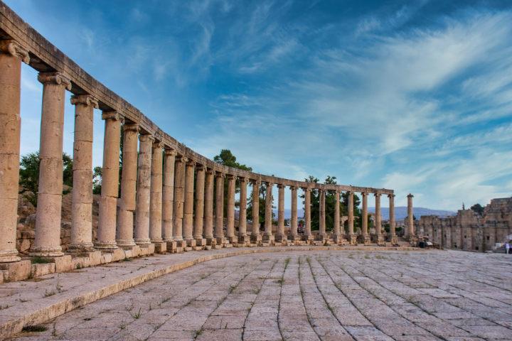 Estamos seguros que te encantará tanto como a ella el ver Gerasa, una ciudad llena de cultura romana Foto Hisham Zayadnh
