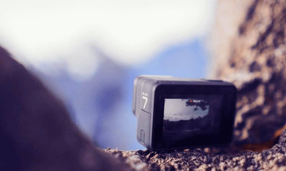 GoPro Foto mott pe
