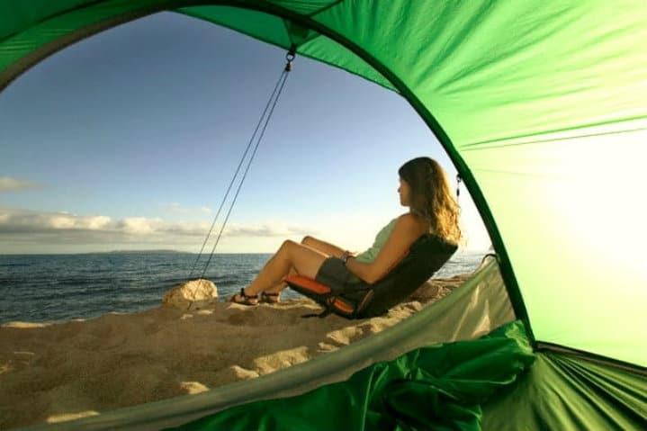 acampa en playas mexicanas