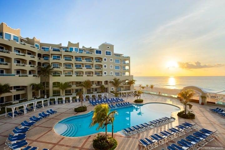 Vacaciones en el hotel gran caribe Cancún