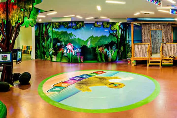 sala para niños