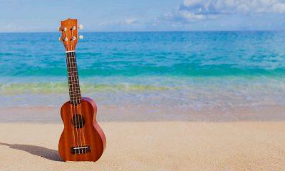 Música en la playa. Foto: infobae.com