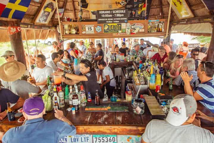 Bar en My Paradise Foto Por My Paradise Puerto Morelos