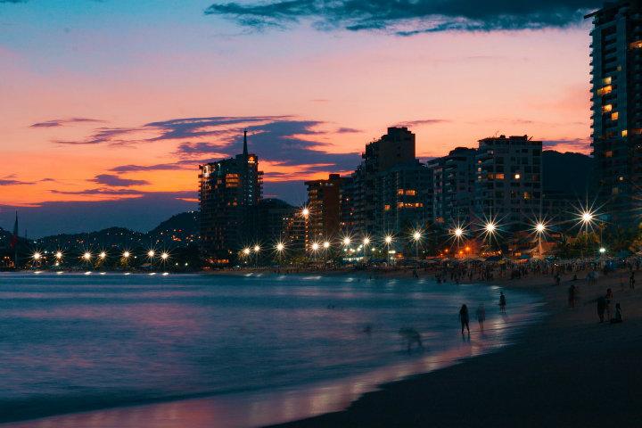 No quisiera decirte adiós nunca, gracias por despedirme con tan bella puesta de Sol Foto Xavier Espinoza