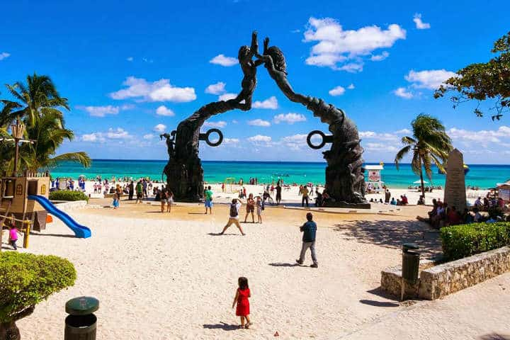 Playa del Carmen es siempre de los destinos preferidos en el Caribe Foto por Travel Seasons
