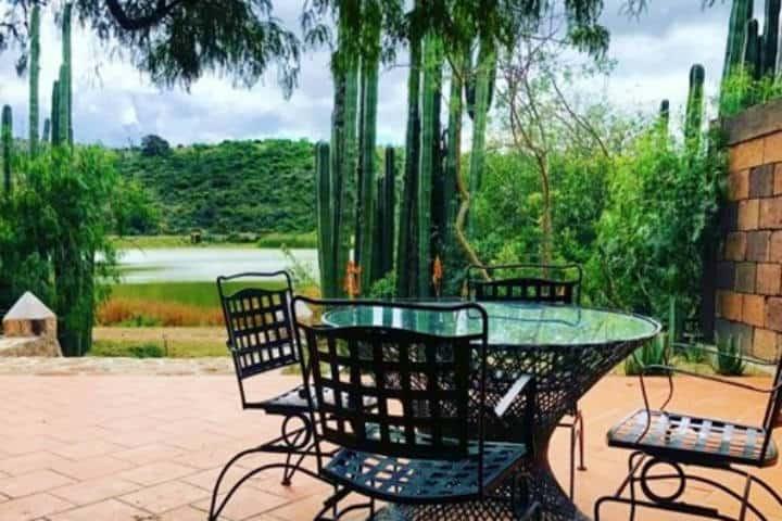 Te estarás hospedando en un bellísimo lugar Foto Hacienda Tovares