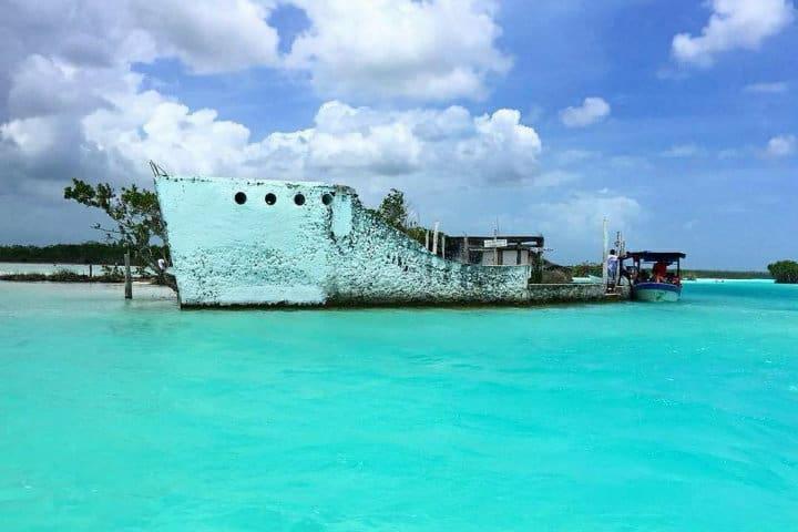 Canal de Piratas en Bacalar
