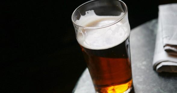 Pint of Beer in Pub