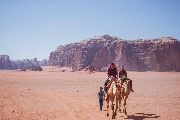 Atrévete a vivir la experiencia completa de Wadi Rum en Jordania Foto Valderama D