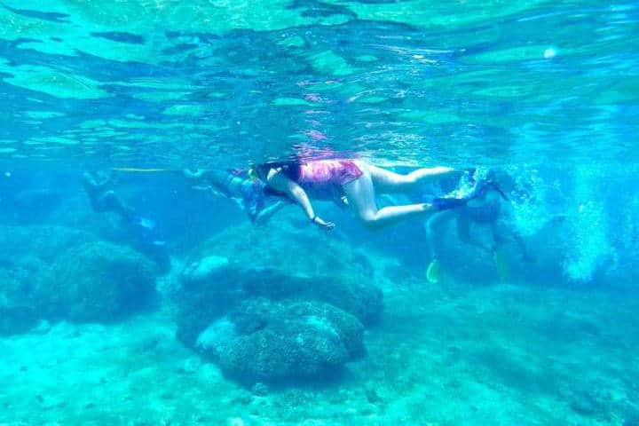Snorkeling en Huatulco. México. Foto. Price 3