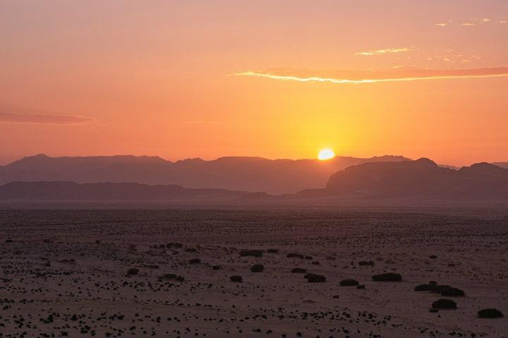 Sus puestas de Sol te harán sentir en otro planeta Foto Heidelbergerin