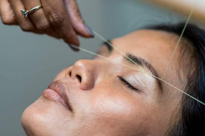 Tratamiento facial. Imagen: Rune Enstad