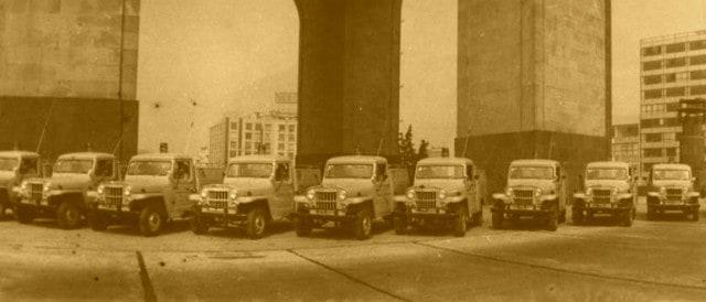 Los primeros Ángeles verdes. Foto: Archivo