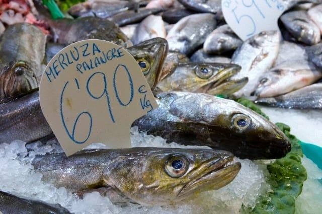 pescado la boqueria