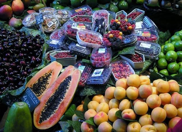 fruta la boqueria