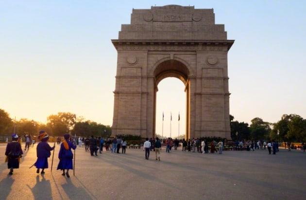 puerta de la india nueva delhi