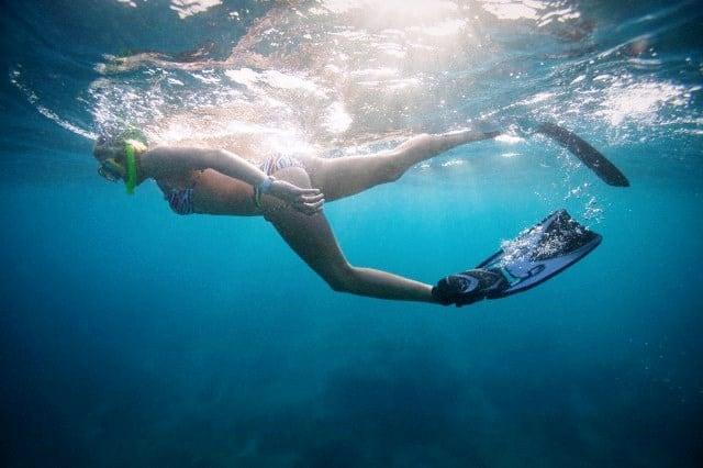 aletas snorkeling