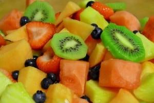 frutas frescas despues de temazcal