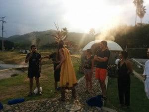 ceremonia para temazcal