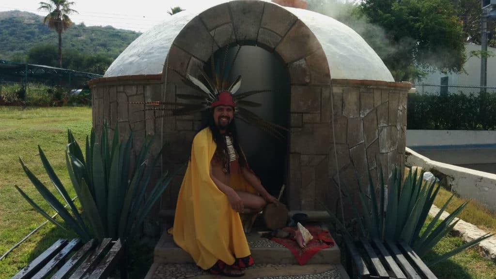 ritual temazcal comanjilla
