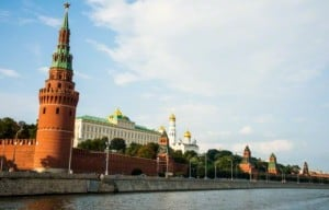 kremlin desde el rio