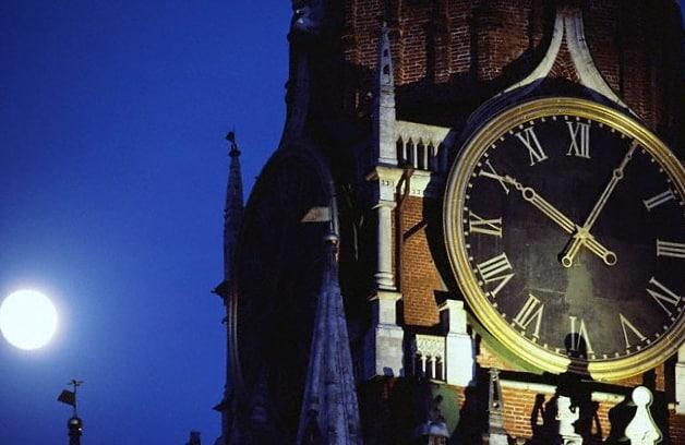 reloj torre kremlin