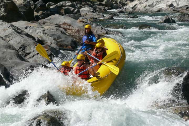 Contrata el tour que incluya esta gran aventura del descenso en rio en Huatulco.Foto.Pinterest.6