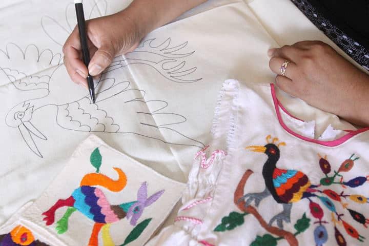 El arte de los textiles.Foto.Independiente de Hidalgo.2