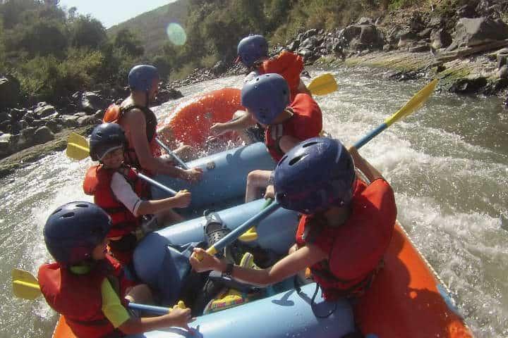 El equipo que se otorga para poder practicar la actividad es completamente seguro y apto para chicos y grandes.Foto.Viajes Bojórquez TPV.4