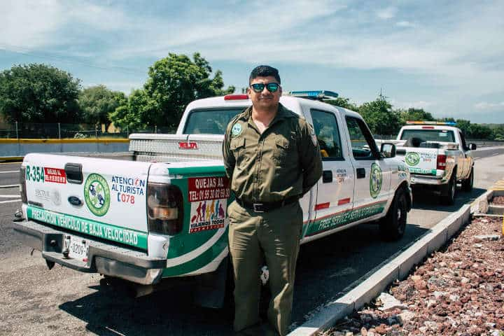 Los Ángeles Verdes siempre listos para dar atención.Foto.Morelos.1