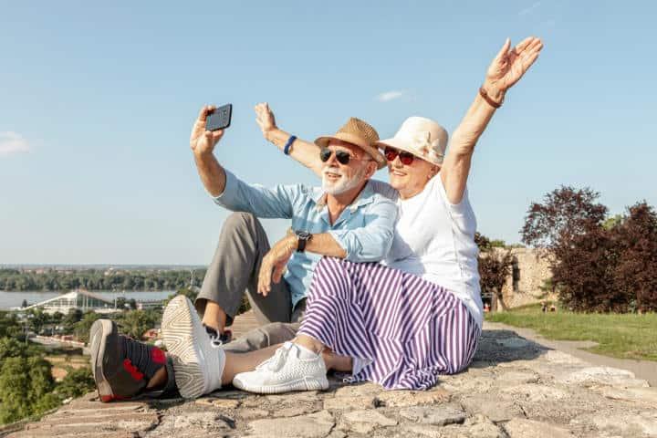 Los de la tercera edad saben que la mejor opción es viajar.Foto.Viajeros Online.1