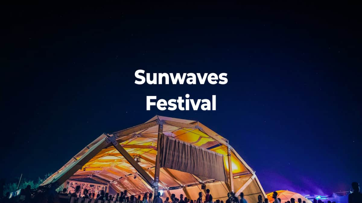 Portada.Sunwaves Fest Rumanía.Foto.Sunwaves fest