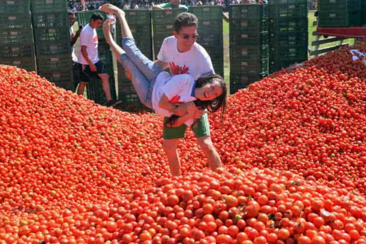 Tomatina en España.Foto.El Espectador.3