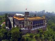 castillo de chapultepec aerea