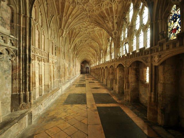locaciones de películas claustro catedral gloucester