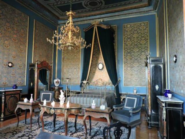 interior castillo chapultepec