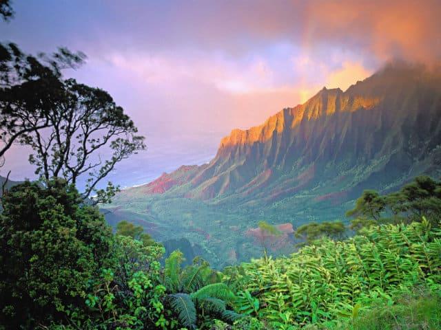 locaciones de películas kauai panorama