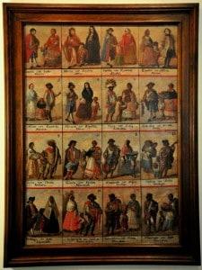 museo del virreinato castas