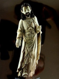 museo virreinato cristo marfil