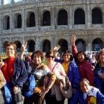 viajeros coliseo roma
