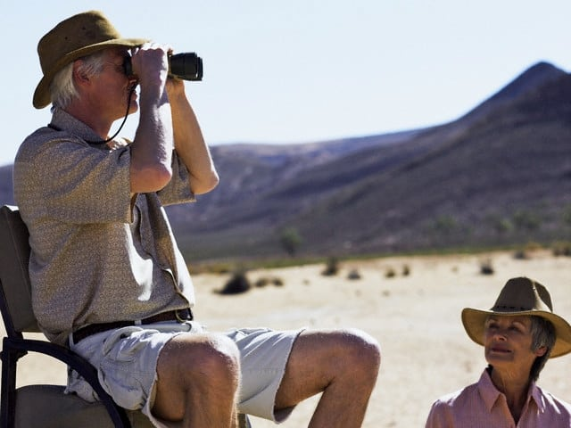 pareja madura safari sudafrica