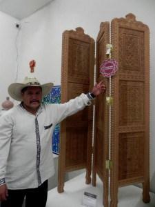 Alfonso Ponce Monroy talla en madera