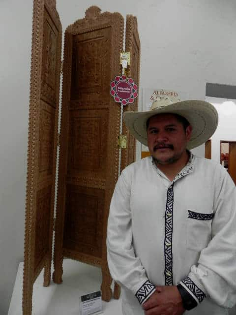 Alfonso Ponce y su biombo ganador