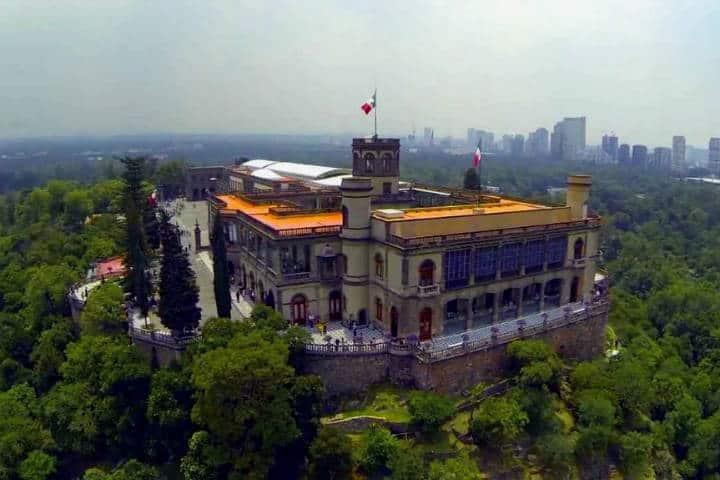 Curiosidades del Castillo de Chapultepec. CDMX. Imagen: Archivo